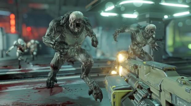 ...und so sieht der Ego-Shooter Doom 2016 aus
