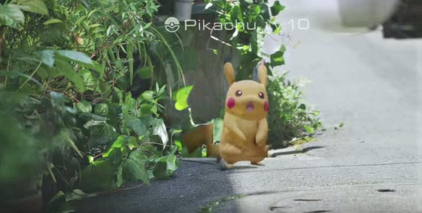pokemonGo- Pikatchu